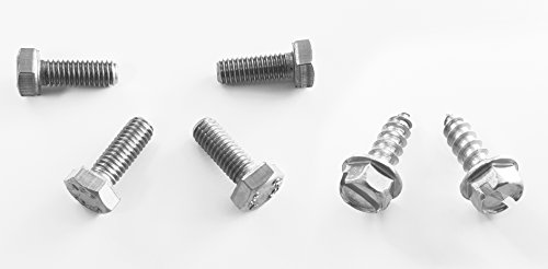 RSD Never Rust OE Style Honda License Plate Screws (Set of 6 - Front/Rear) (Honda License Plates compare prices)