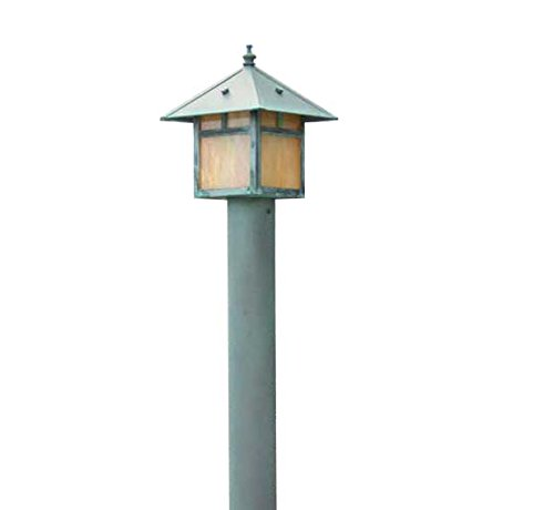 Focus AL-09-LEDP52ALUM(COLOR) Outdoor Area Light with White Plastic Shades, Optional Powder Coat Finish