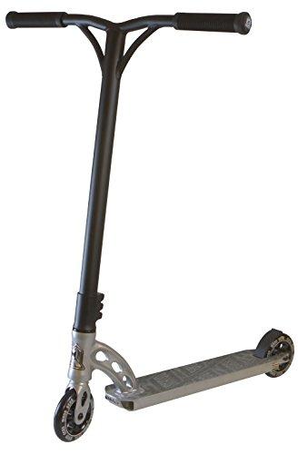 Madd Gear VX5 Team Scooter, Grey/Black, 4.5-Inch Deck