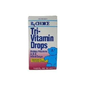 Tri-Vitamin Drops For Growing Baby - 50 Ml