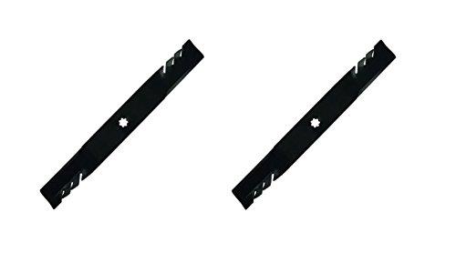 """(2) 42"""" Gator Mulching Blades for John Deere Z225, Z235, LA125, LA135"""