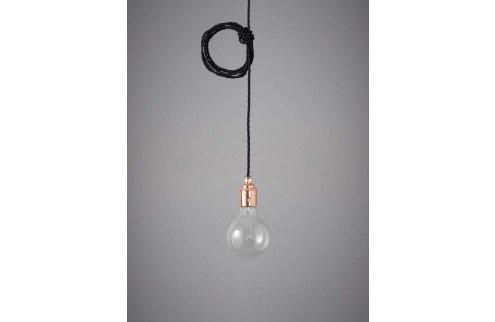 Nook London Retro Lampenaufhängung Nostalgia Lights Pendant Set copper raven black