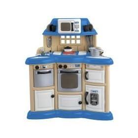 American plastic toys children 39 s kitchen play set dress for Kitchen set toys amazon