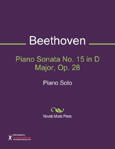 Piano Sonata No. 15 in D Major, Op. 28 Sheet Music (Piano Solo)