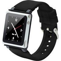 Iwatchz Clrchr22Blk Q Collection Wrist Strap For Ipod Nano 6G-Black