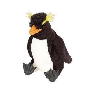 Plush Rockhopper Penguin Cuddlekin 12
