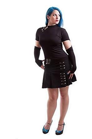 Milisha Safety Pin Mini Skirt - Extra Small