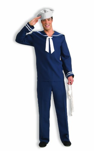 Forum Novelties Men's Ahoy Matey Sailor Costume