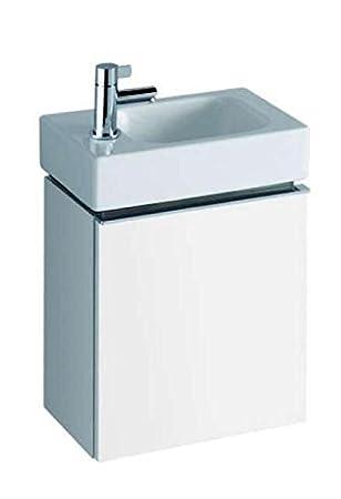Keramag iCon xs Small Bathroom Cabinet for under Hand Basin Alpin Hochglanz