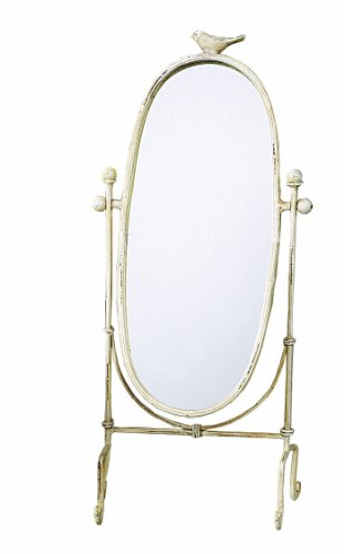 Creative Co-op Cottage Chic Vanity Mirror, 18.5-Inch 0