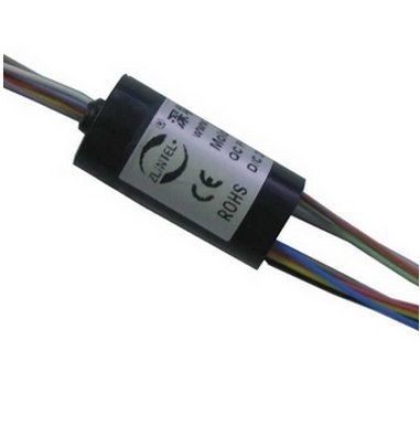 Mini Capsule Slip Ring 12 Wires 2A 500Rpm Zsr012-12U