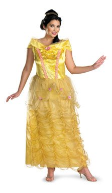 Disguise Inc - Beauty And The Beast - Belle Deluxe Adult Plus Costume