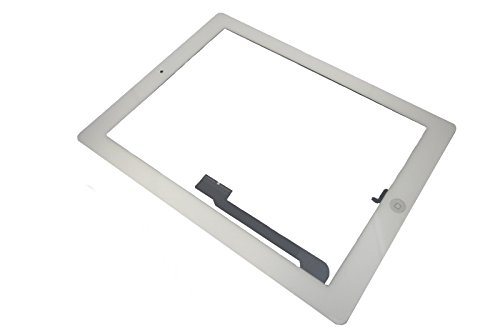 Apple iPad 4 A1458 A1459 A1460 Touch Screen Display Front Glas Scheibe Original Neu weiß white