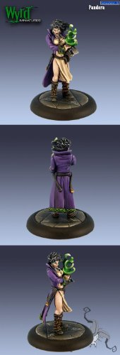 Pandora - Bringer of Woe (Wyrd 32mm) by Wyrd Miniatures - 1