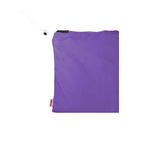 NUBY Washable Wet Bag, Purple