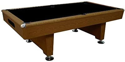 Playcraft Honey Oak Knight 8' Pool Table with Ball Return