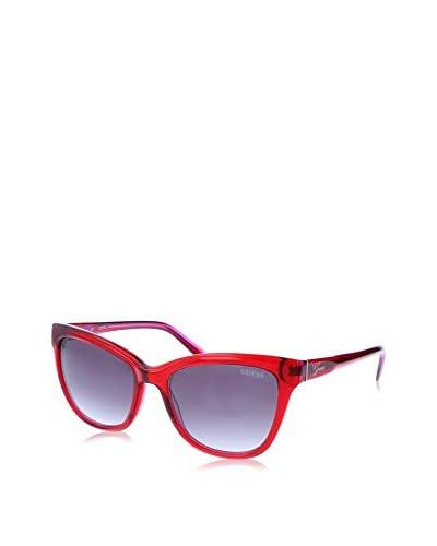GUESS Gafas de Sol 7359 (56 mm) Rojo