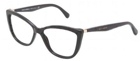 DOLCE & GABBANA Eyeglasses DG 3138 Black 53MM