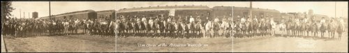 Photo Cow Girls at the Pendleton Round Up, 1911 1911 (Vintage Rodeo Posters compare prices)