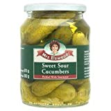 Mrs Elswood Sweet Sour Cucumbers 670G