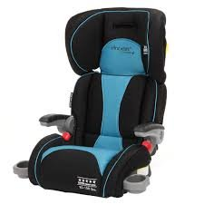 The First Years Compass B540 Booster Car Seat, Black And Teal