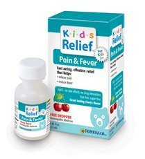 Kids Relief Pain and Fever Oral Solution, 0.85-Ounce (Pack of 2)