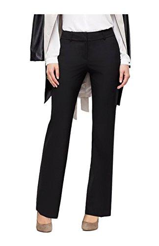 BodiLove Women's Boot Cut Performance Formal Dress Pant