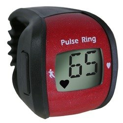 Milex Sports Pulse Ring Fast and Easy Heart Rate Monitor LCD