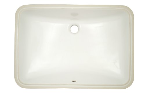 "Review TOTO Lt540G#01 21-14"" X 14"" Under Counter Lavatory With Sanagloss, Cotton White"