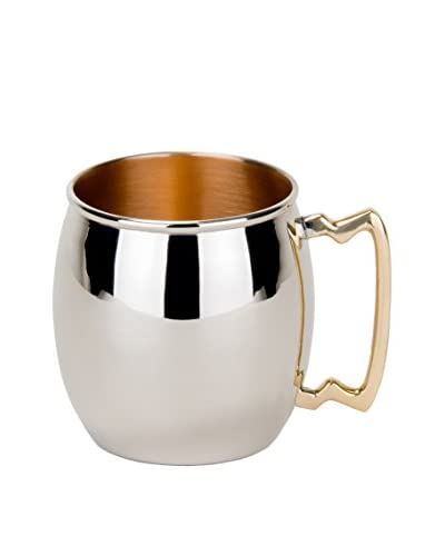 Old Dutch 16-Oz. Polished Nickel-Plated Moscow Mule Mug