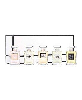 Chanel Fragrance Wardrobe Miniature Gift Set Of 5 Five Parfum