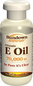 Sundown Vitamin E Oil 70000 IU, 2.5 fl oz