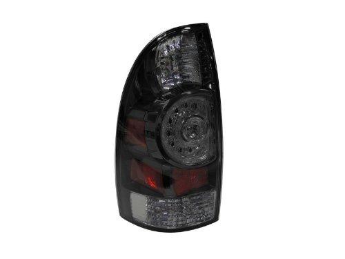 Toyota Tacoma 09-12 Tail Light Led Clear Lens Black Bezel Set