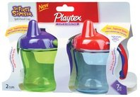 Playtex Baby The First Sipster Spill-Proof 7 Oz Cup - 2 Pack: Girl Colors front-456695