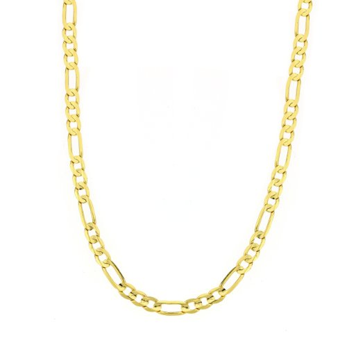 14k Yellow Gold 2.2mm Figaro Chain Necklace, 20""