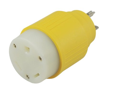 Conntek 14104 20-Amp NEMA 5-20P RV Generator Adapter Plug to RV 30-Amp Female Adapter at Sears.com