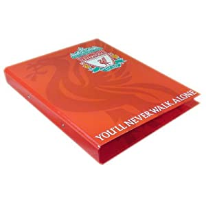 Liverpool FC Ring Binder - Football Gifts from Official Football Merchandise