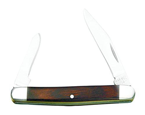 Bear & Son 232R Rosewood Two-Blade Pen Pattern Slip Joint Knife, 2 7/8-Inch