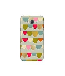 Kolor Edge Printed Back Cover For Samsung Galaxy On7 - Multicolor (8022-Ke10345SamOn7Sub)