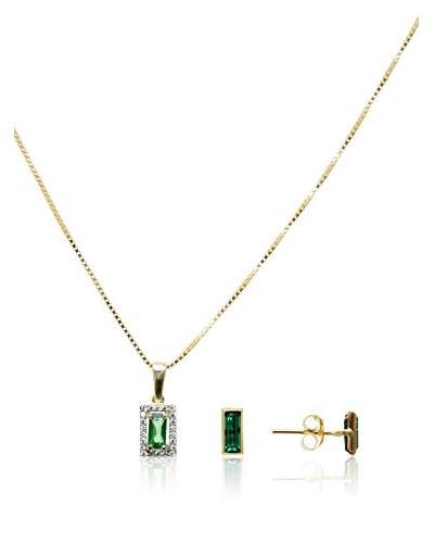 Cordoba Jewels Set collana e orecchini  argento 925 bagnato oro