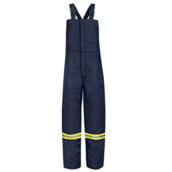 Bulwark Deluxe Insulated Bib Overall, Excel FR ComforTouch, NAVY, LNXXL BLCTNVLNXXL by Bulwark