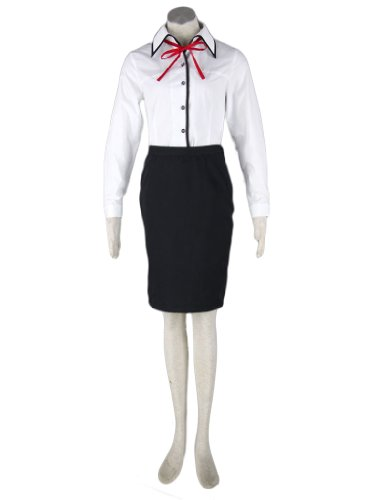 Justincostume Sexy Japanese Anime Doctor Uniform Cosplay Costume, Xs