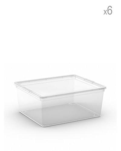 Kis Set 6 C Box M Trasparente