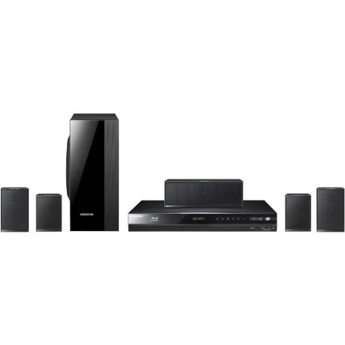 Samsung HT-D4500 5.1-inch Blu-ray Smart Hub Home Theatre System with 1000W Power
