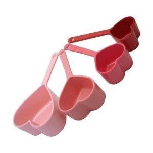 Dci Heart Measuring Cups, 4 Piece Set