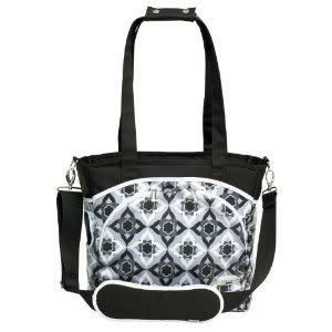 Laminated canvas 100% polyfill JJ Cole Mode Diaper Tote Bag changing pad included - Black Magnolia Nourrisson, Bébé, Enfant, Petit, Tout-Petits