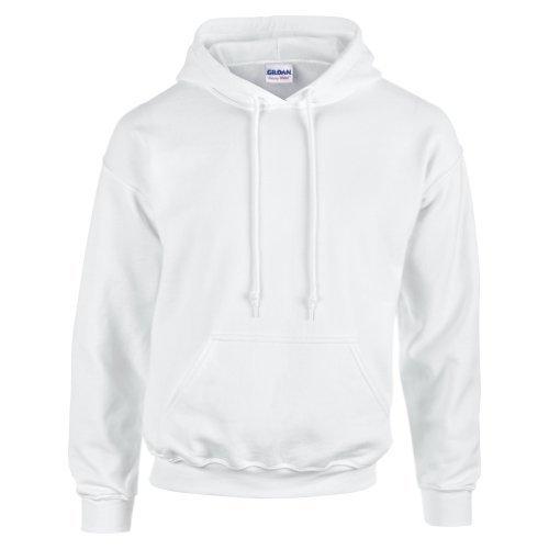 gildan-hooded-sweatshirt-heavy-blend-plain-hoodie-pullover-hoody-white-m