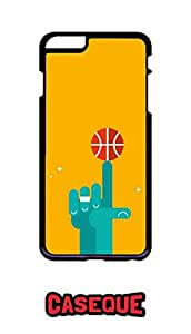 Caseque Basketball TT Back Shell Case Cover for Apple iPhone 6 Plus