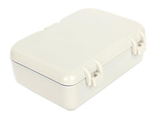 Freshgadgetz scatola porta dentiera con specchio e - Spazzolino bagno ...
