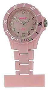 Funky BOA fob montre Superbe Neon Baby Pink Neon